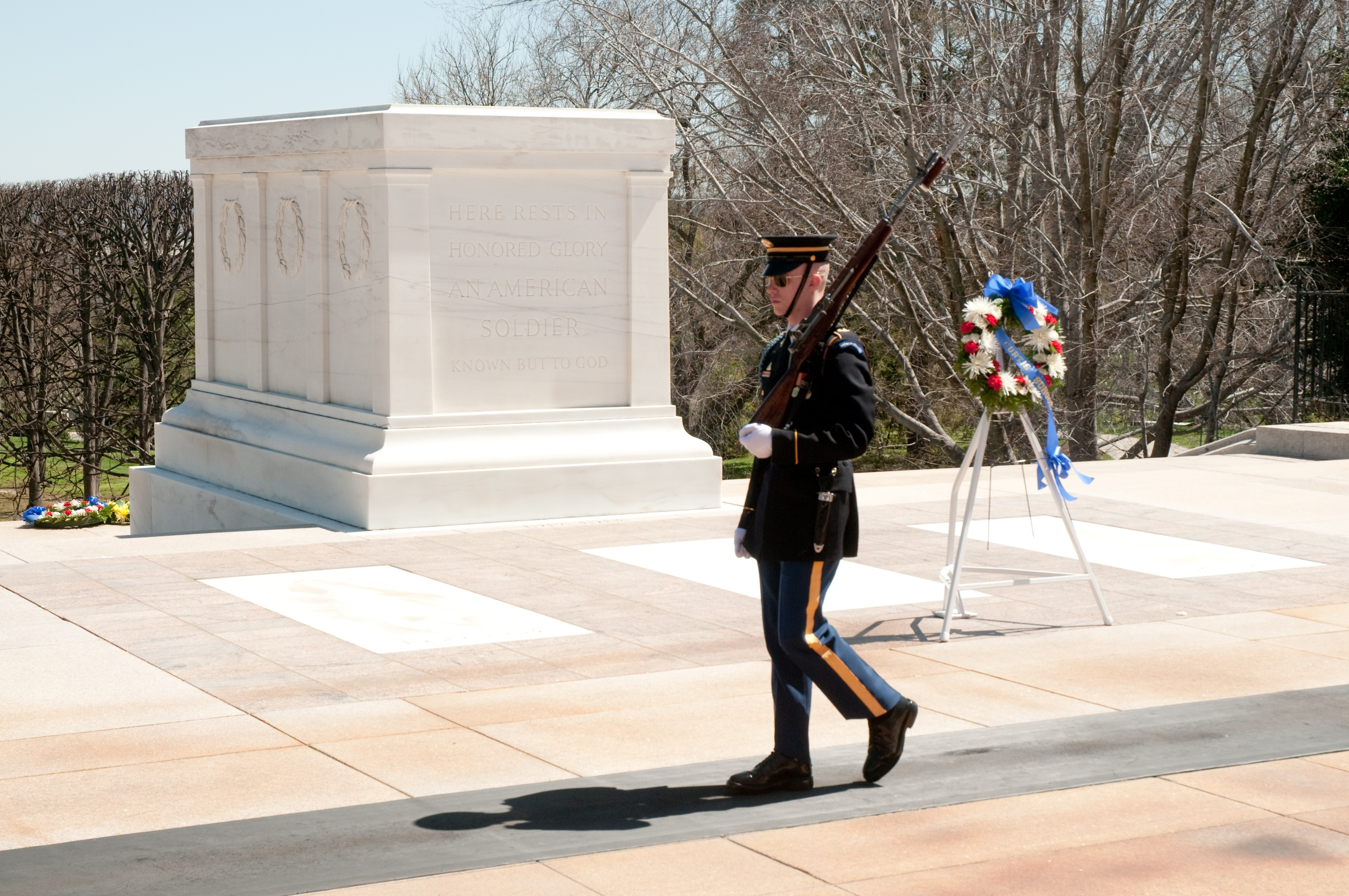 The Tomb of the Unknown Soldier, Arlington National Cemetery