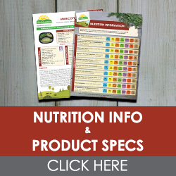 Download Nutritional Information and Product Specifications
